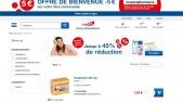 Capture d'écran du site Shop-pharmacie.fr le 7 septembre dernier.