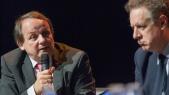 Philippe Gaertner (FSPF) enplein débat avec Nicolas Revel (Assurance maladie).